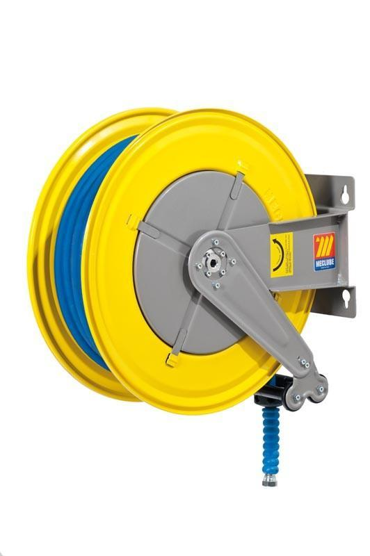 070-1505-430 - Hose reel fixed for water 150° C 400 bar Mod. F-555 with hose