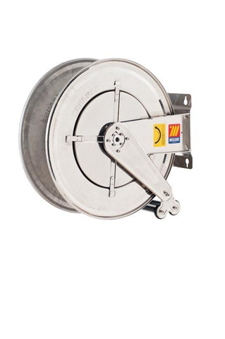 070-2505-400 - Stainless steel automatic hose reel AISI 304 fixed for water 150 °C 400 bar Mod. FX-555 without hose