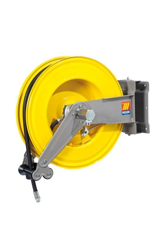 071-1406-420 - Automatic hose reel varnished swivelling for oil 160 bar Mod. S-550 with hose 20M 1/2""