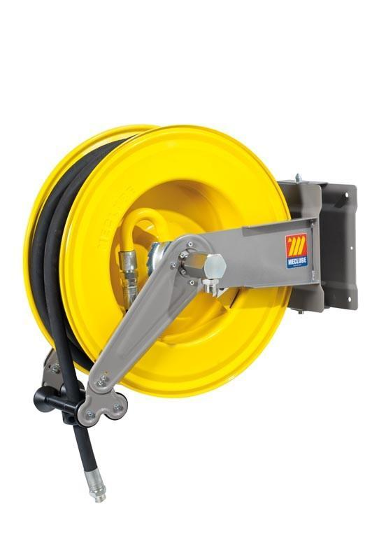 071-1506-430 - Automatic hose reel varnished swivelling for oil 160 bar Mod. S-555 with hose 30M 1/2""