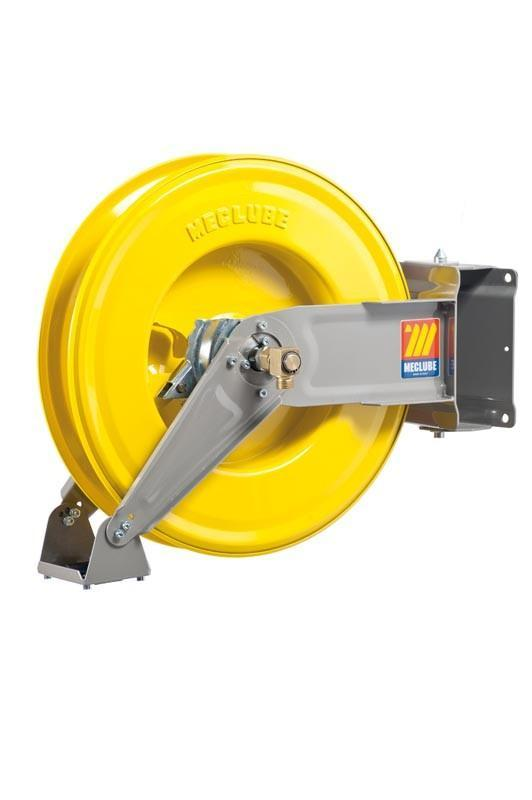 071-1307-300 - Automatic hose reel varnished swivelling for grease 600 bar Mod. S-460 without hose