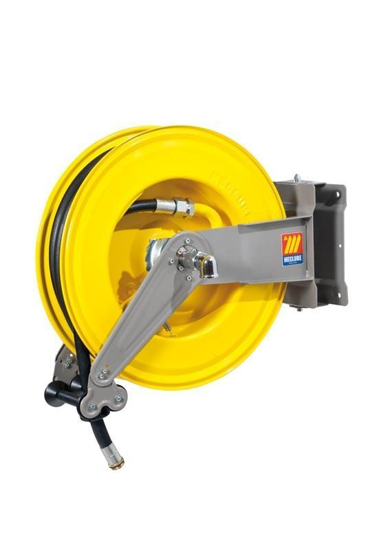 071-1408-515 - Automatic hose reel varnished swivelling for diesel 10 bar Mod. S-550 85l/min with hose 15M 3/4""