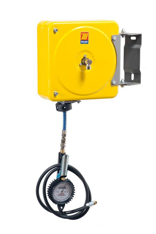 063-1581-000 - Swivelling closed hose reel for inflating tyres