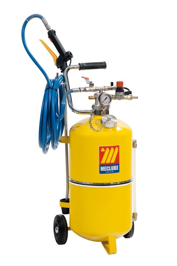 051-1522-000 - Polished steel pressure sprayer 24 l with foaming device