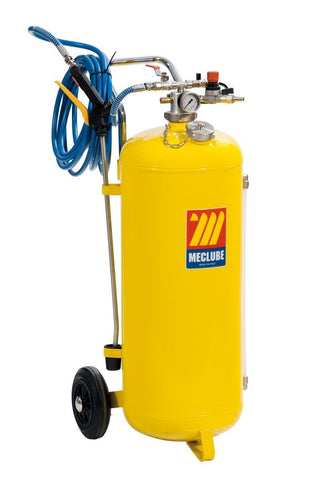 051-1527-000 - Polished steel pressure sprayer 50 l with foaming device