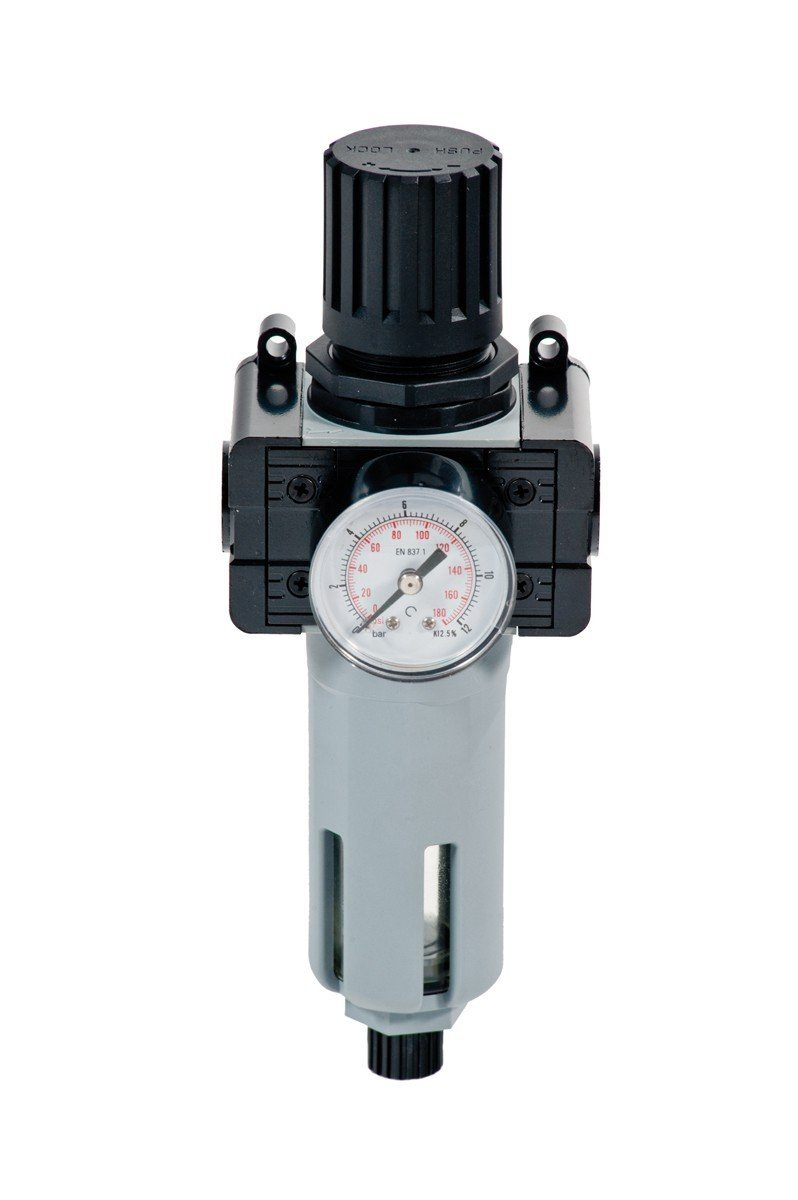 014-1046-000 - Pressure regulator with filter and gauge