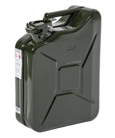 096-3910-000 - Painted steel jerry can 10l