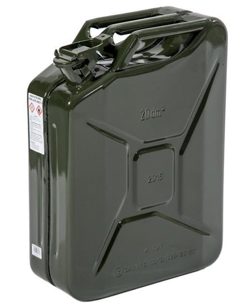 096-3920-000 - Painted steel jerry can 20l