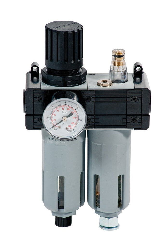 014-1048-000 - Pressure regulator with filter. lubricator and gauge