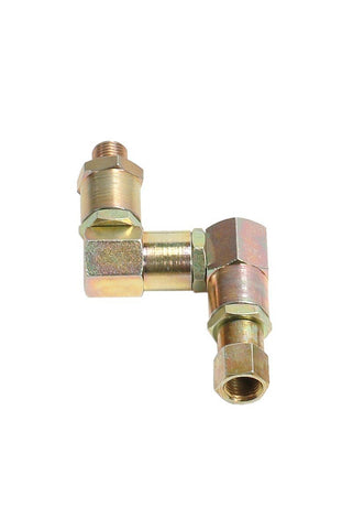 "014-1090-000 - Triple-swivel joint with 1/4"" M-F thread"