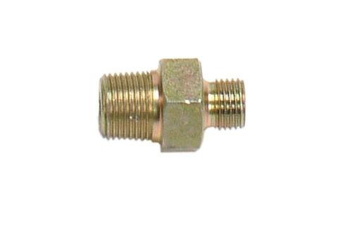 "F96-0110-202 - Plated steel M1/4""G x M1/4""NPT nipple"