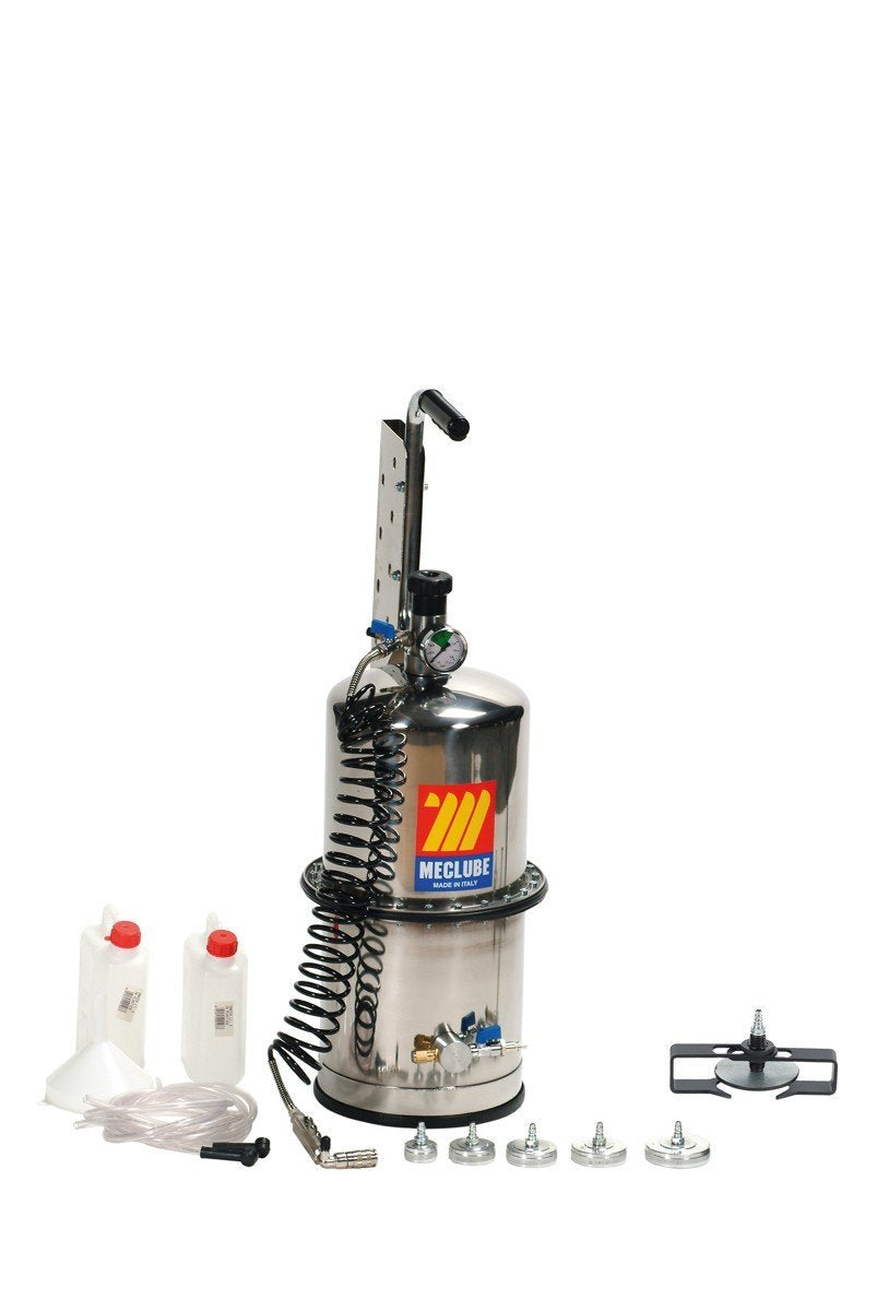 080-1791-000 - Stainless steel brake bleeder-clutches with two chamber 10 l