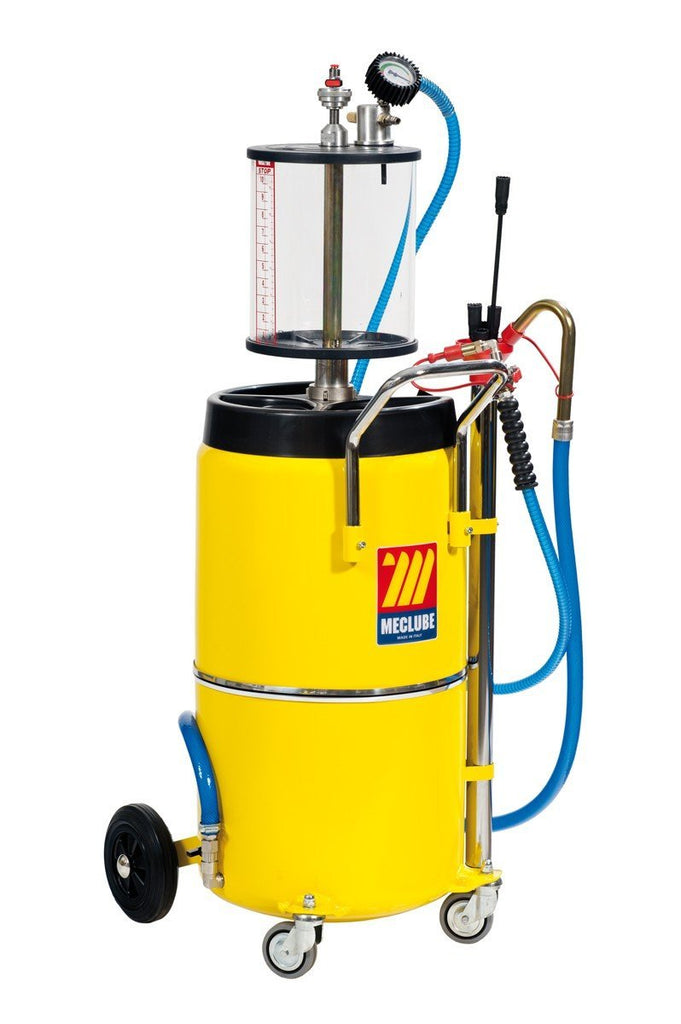 040-1435-000 - air-operated aspirator for exhausted oil 90 l with pre-chamber