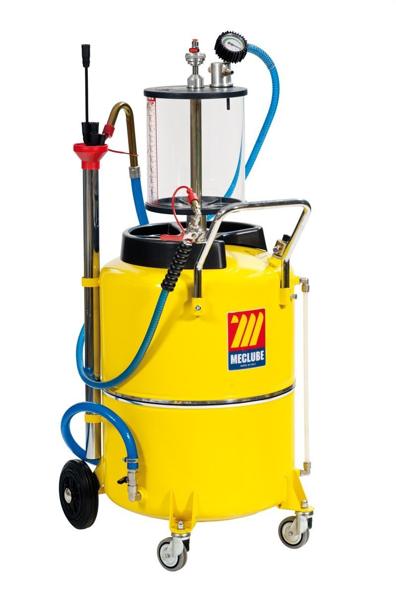 040-1438-000 - air-operated aspirator for exhausted oil 120 l with pre-chamber