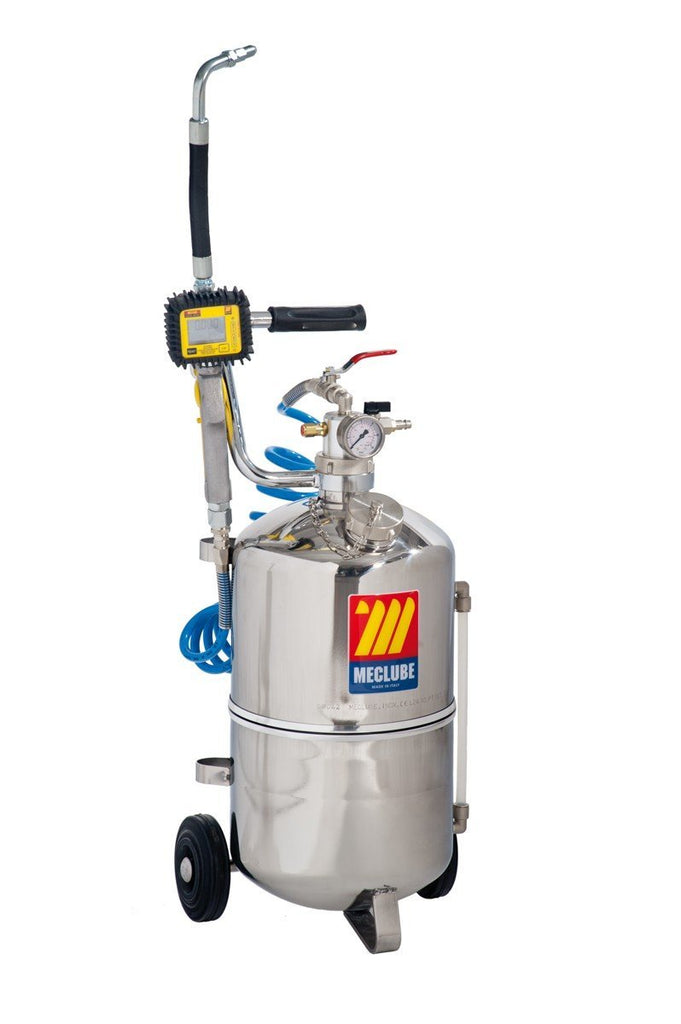 027-1308-000 - 24 l pneumatic oil dispenser stainless steel