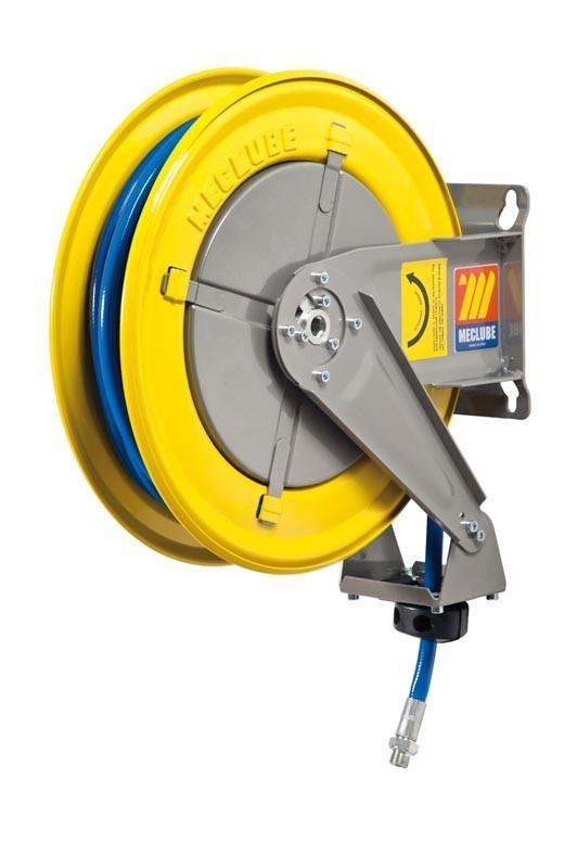 070-1201-215 - Hose reel fixed for air-water 20 bar Mod. F-400 with hose