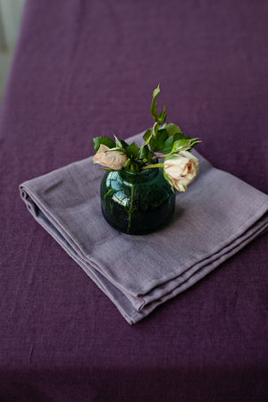 SET OF LAVENDER LINEN NAPKINS - Iconic Linen