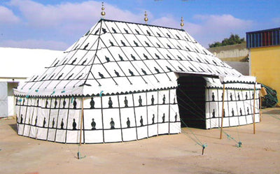Moroccan Traditional Caidale Tent 13 ft x 26ft