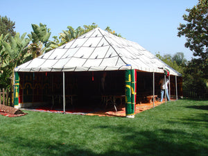 Moroccan Traditional Caidale Tent 20 ft x 40ft