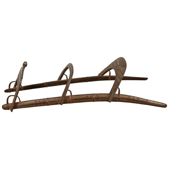 Antique Camel, Dromadaire Brass and Iron Saddle