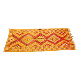 Orange Moroccan Tribal Rug