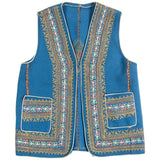 Authentic Ottoman Turkish Blue Vest