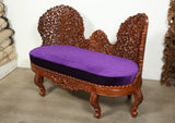 Anglo Indian Settee and Side Chairs Suite