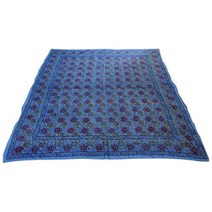 Kalamari Blue Textile from India