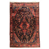 Small Turkish Hand-Knotted Rug
