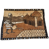Korhogo Handwoven Mud Cloth Ivory Coast Africa