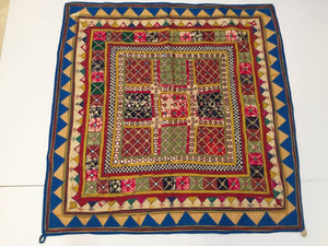 Embroidered Ceremonial Chakla Cloth Textile