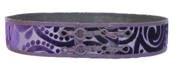 Moroccan Purple Caftan Belt