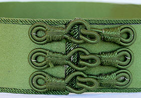 Moroccan Caftan Belt, Green