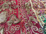 Hand Embroidered and Quilted Textile from India