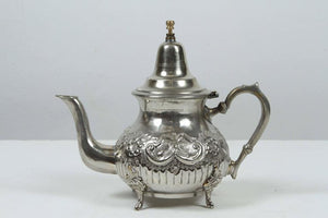 Moroccan Silver Plated Tea Pot
