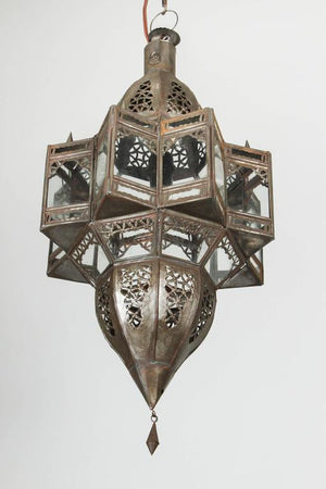 Moroccan Moorish Star Shape Pendant