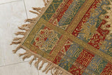 Granada Islamic Spain Textile with Arabic Calligraphy Writing