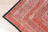 Indian Silk Sari Tapestry Quilt Patchwork
