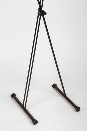 Fratelli Reguitti Folding Valet Metal Stand from the 1950s
