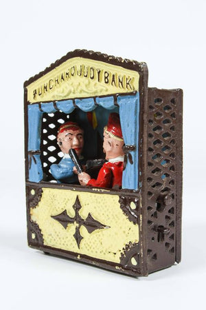Cast Iron Punch and Judy Bank