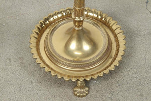 Anglo-Indian Brass Floor Lamp