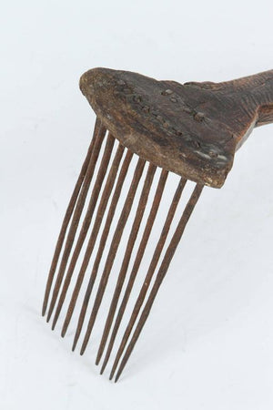 Antique Moroccan Tribal Berber Wool Comb