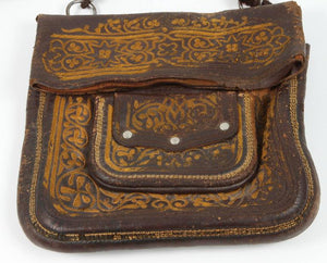 Moroccan Messenger Leather Bag