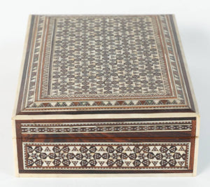 Fine Antique Syrian Mother-of-Pearl Inlay Box