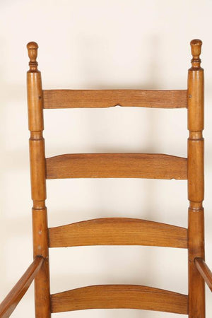 Ladder High Back Rocking Chair