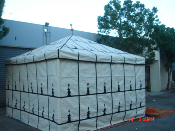 Moroccan Traditional Caidale Tent 13ft x 13ft