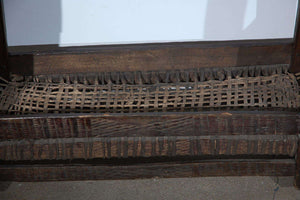 African Wooden Primitive Basket