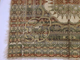 Granada, Islamic Spain Textile with Arabic Calligraphy