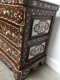 Syrian Chest of Drawers, Mother-of-pearl Inlay