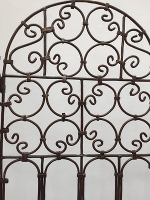 Moroccan Hand-Crafted Iron Screen